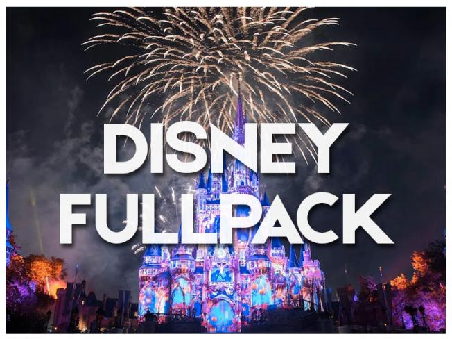 DISNEY FULL PACK - 2019